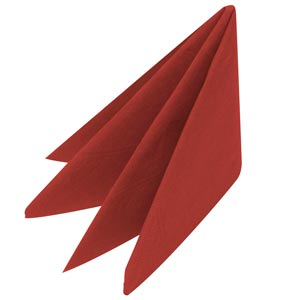 Swantex Red Napkins 33cm 2ply (Pack of 100)